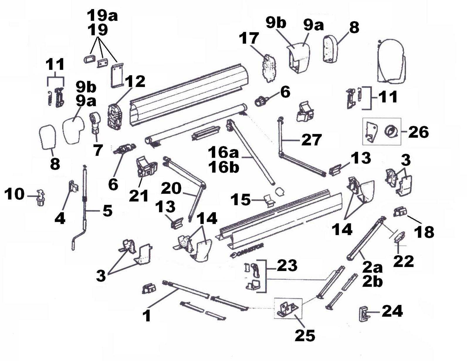 Acdc tous les accessoires pour votre camping car et - Pieces detachees store banne ...